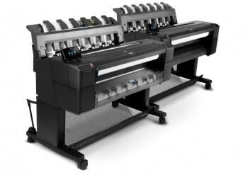 Широкоформатная печать Hewlett-Packard