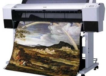 Широкоформатная печать на ткани
